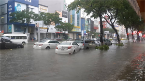 Heavy rain from night to morning, many central provinces are in danger of flooding